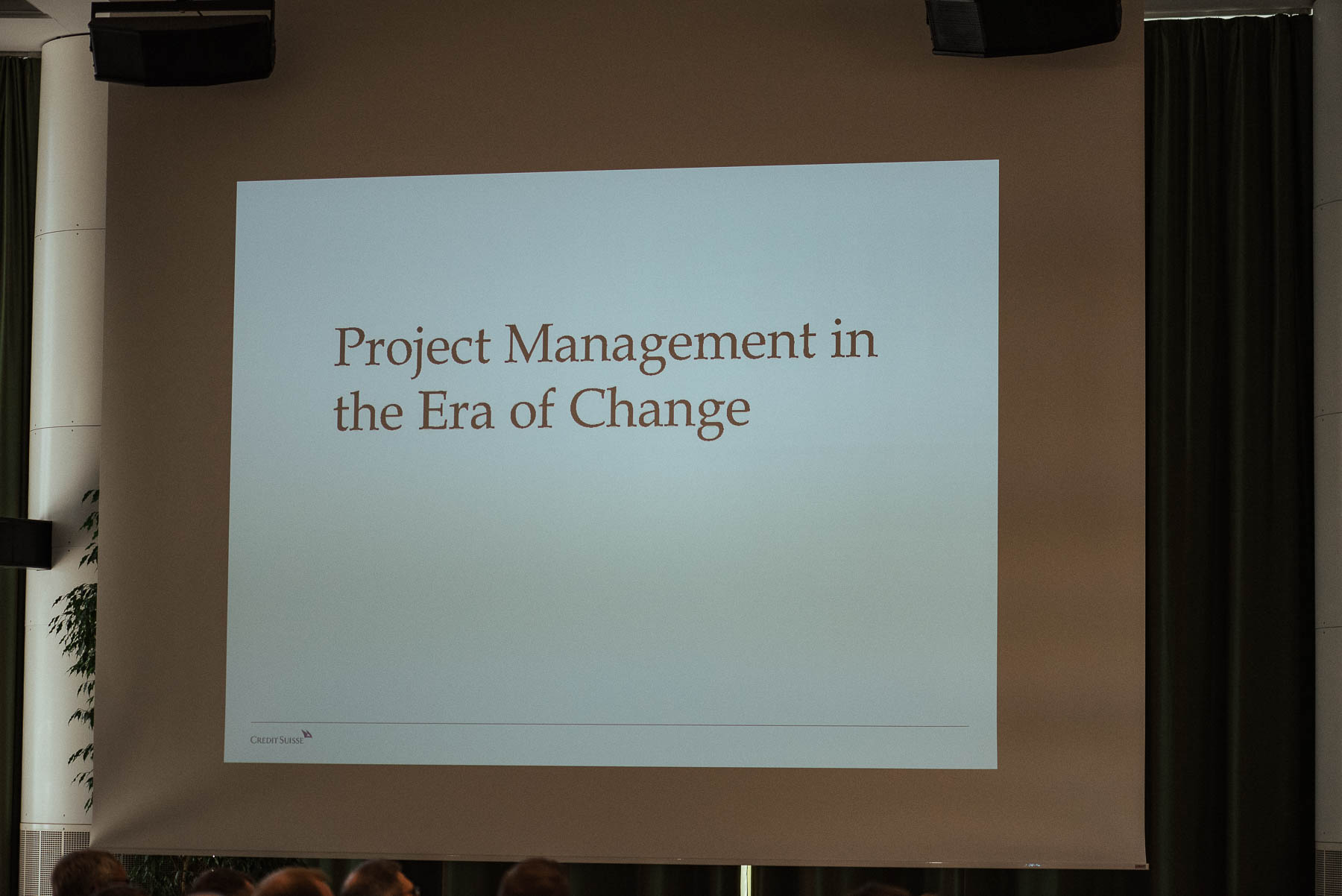 Project Mgmt Event Horgen
